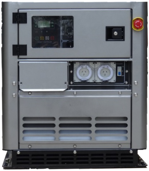 End View of CHP Generator